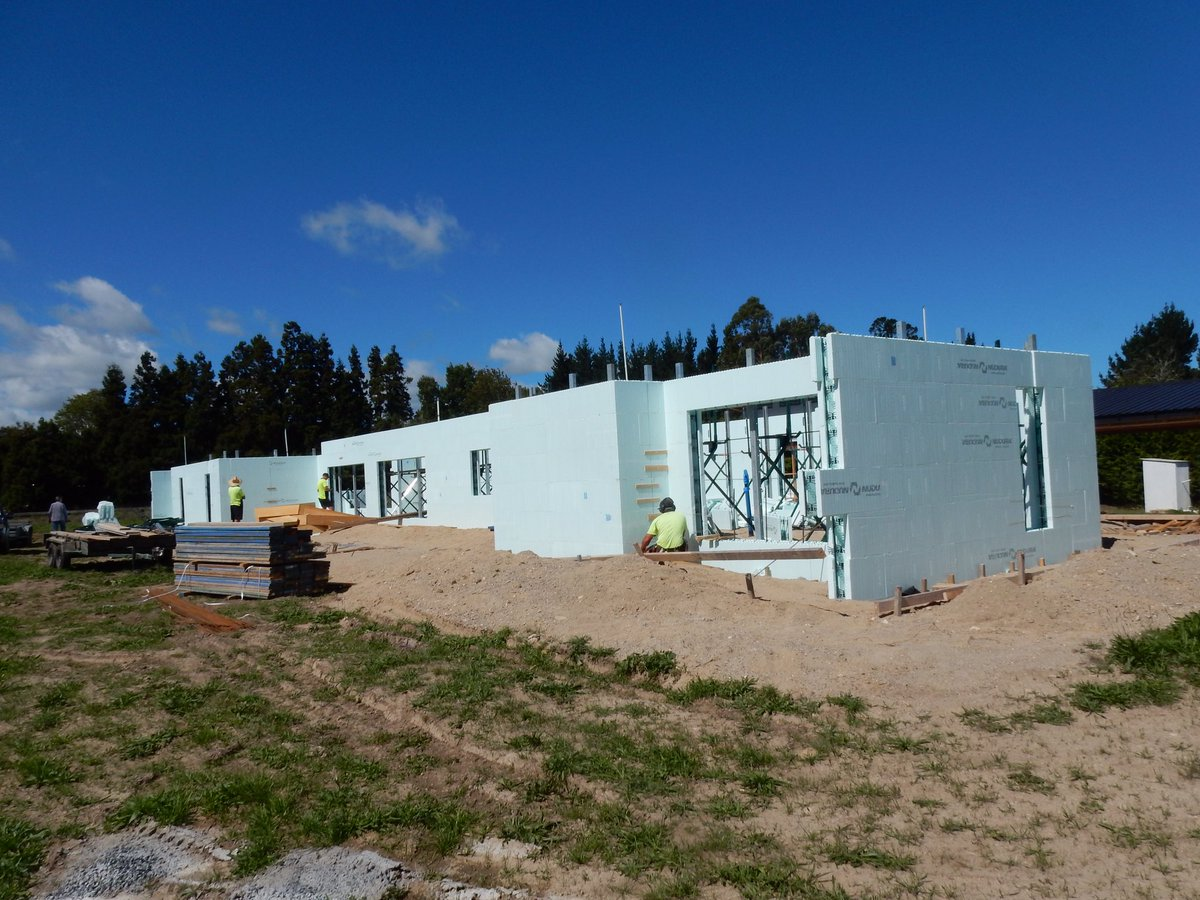 Future homes energy efficient construction icf builds for Icf housing