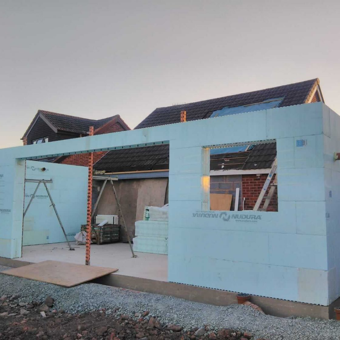 Norton Nudura ICF Extension | Future Homes Developments